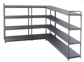 113. Metal Shelving