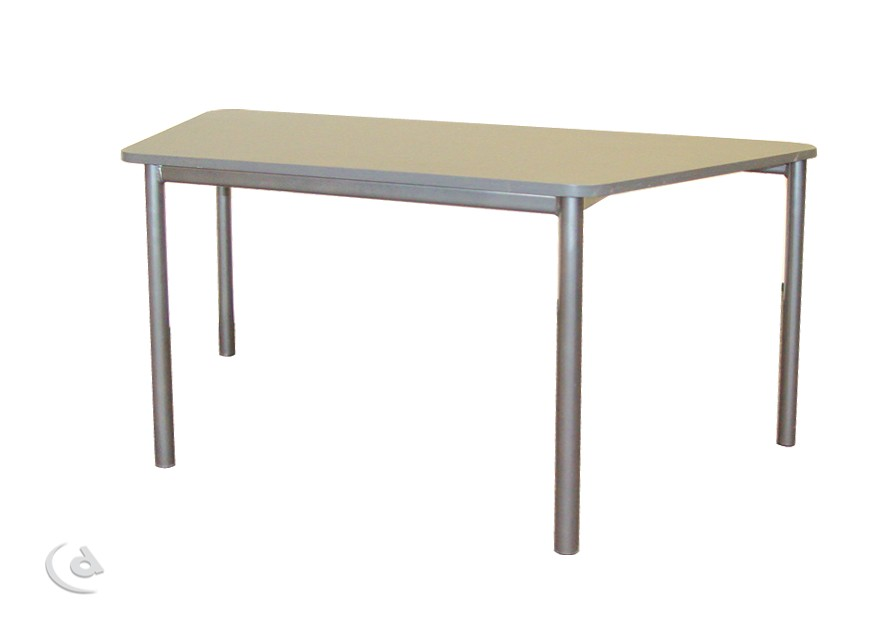 Trapezoidal table distinction furniture for Trapazoid table