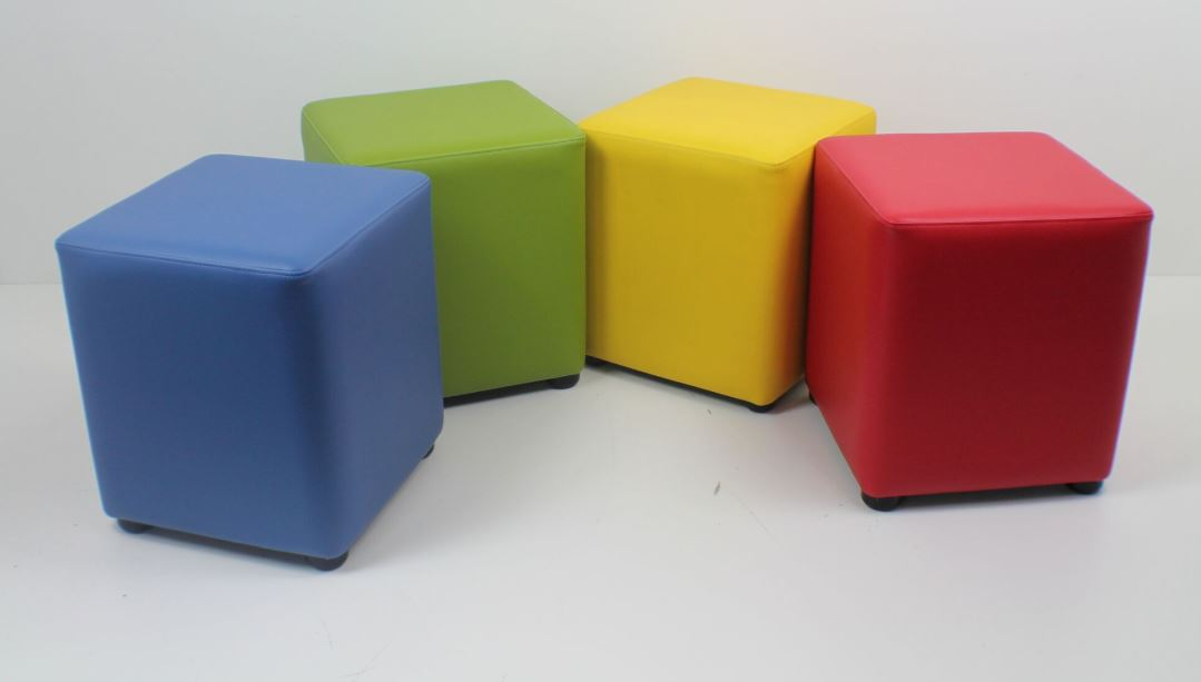 lowest price 730b6 a26a6 Cube Stool - Distinction Furniture