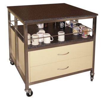 75. Cup & Plate Trolley