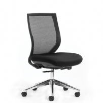 Flight mesh gaslift chair
