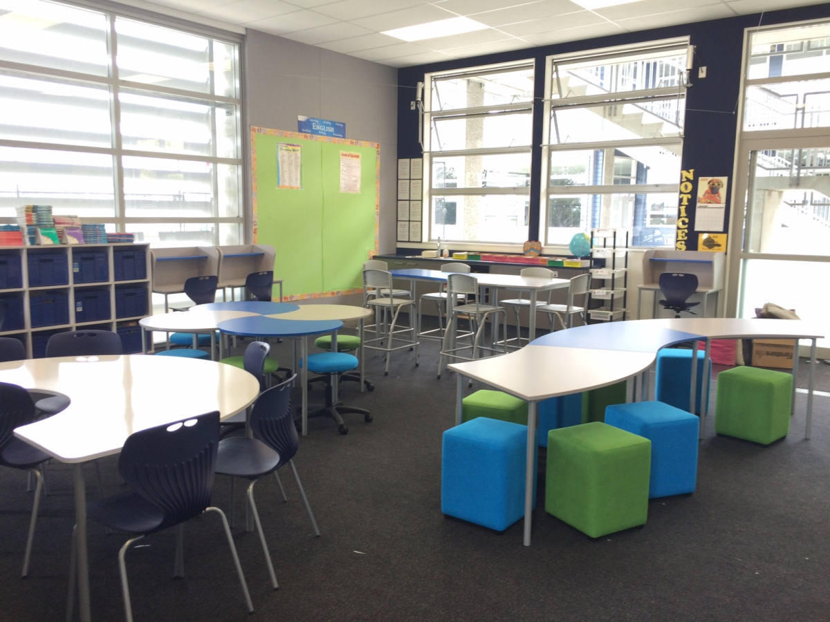 Innovative Primary Classrooms : Innovative learning environments distinction furniture